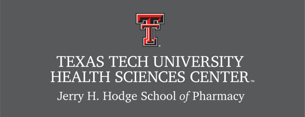 TTUHSC Hodge School of Pharmacy 4 Color Logo