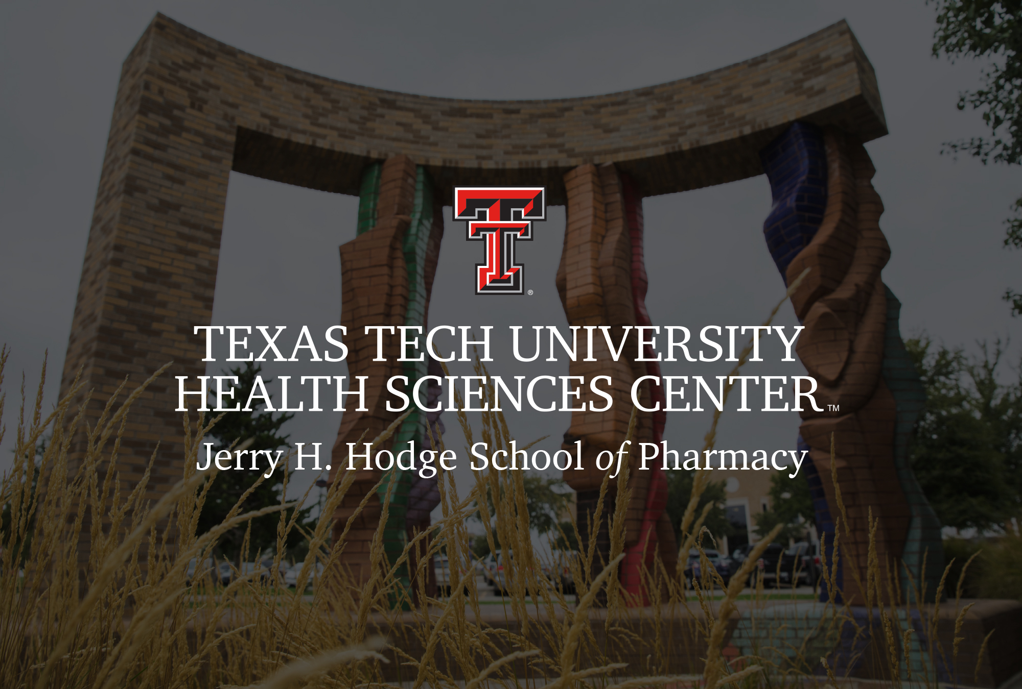 TTUHSC Hodge School of Pharmacy Logo